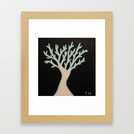 Winter's Glow Framed Art Print