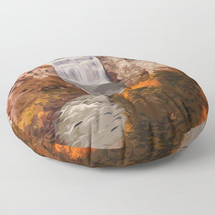 Kanarra Falls, Zion National Park, Utah Floor Pillow