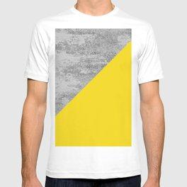 Simply Concrete Mod Yellow T-shirt