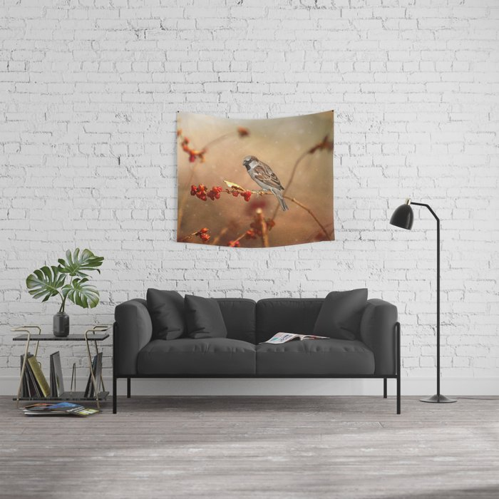 The Sparrow Wall Tapestry