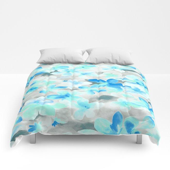 Floral 03 Comforters