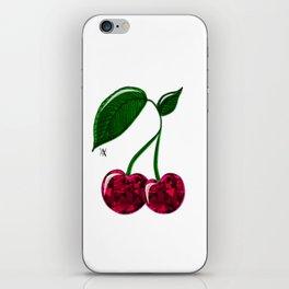 Cerises iPhone Skin