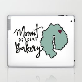 Mount Dessert Bakery Logo Laptop & iPad Skin