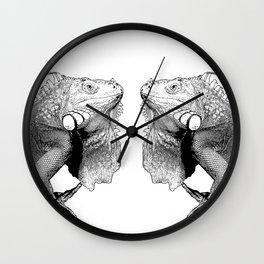 Iguanas (animals) Wall Clock
