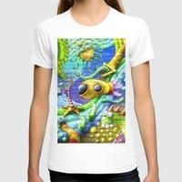 underwater T-shirts featuring Underwater by andyk77