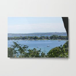 Harbor Springs Bay, View from Bluff (2) Metal Print