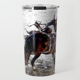 The Dismount   -   Rodeo Cowboy Travel Mug