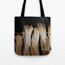 Wood Slabs Tote Bag