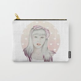 Girl Pink Carry-All Pouch