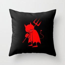 minima - sad devil Throw Pillow