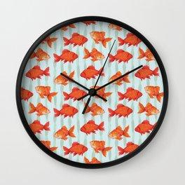 goldenfish Wall Clock