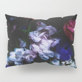 Colourful Moody Blooms Pillow Sham