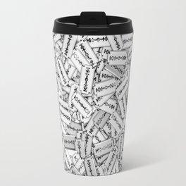 Razor blades Travel Mug