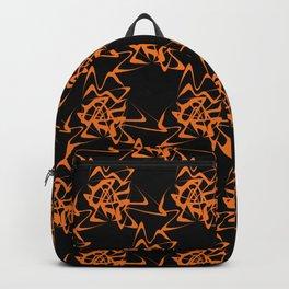 Manipulation 2 - Orange on Black Backpack