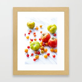 Tennessee Tomatoes Framed Art Print