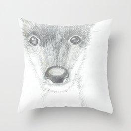 oh, deer Throw Pillow