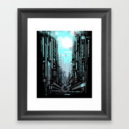 Urban Memories Framed Art Print