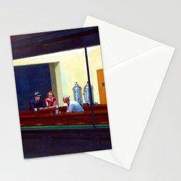 Edward Hopper Nighthawks Stationery Cards