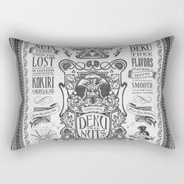 Legend of Zelda inspired Deku Nuts Vintage Advertisement Rectangular Pillow