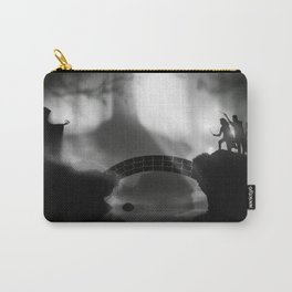 """But Death was cunning"" Deathly Hallows Carry-All Pouch"