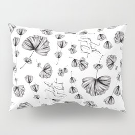 Floral Grow with your heart Pillow Sham