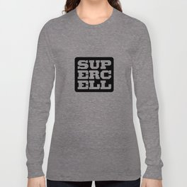 the supercell Long Sleeve T-shirt