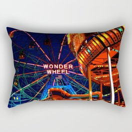 Coney Island, Baby Rectangular Pillow
