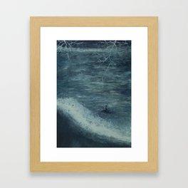 Overcome Framed Art Print