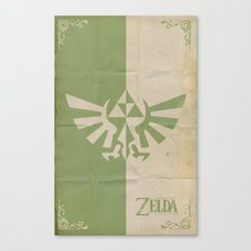 Legend of Zelda: Triforce Canvas Print