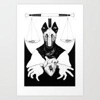 Amenti BW Art Print