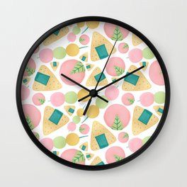 Japanese Snacks Wall Clock