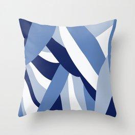 Pucciana Blue Throw Pillow