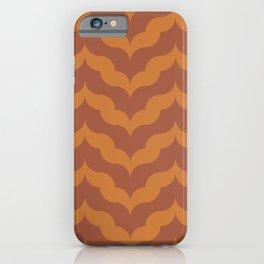 Juliet in Burnt Orange iPhone Case