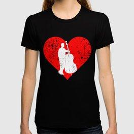 I LOVE CONTRABASS T-shirt