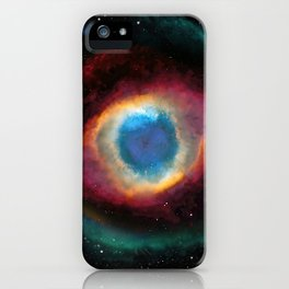 Helix (Eye of God) Nebula iPhone Case