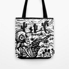 Crooked Tote Bag