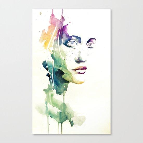 non vedi niente - niente Canvas Print