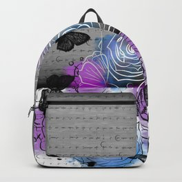Beautiful Skull Backpack