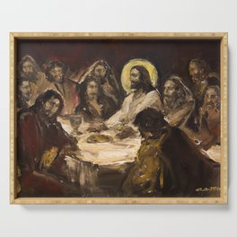 The Holy Supper (The Last Supper) Serving Tray