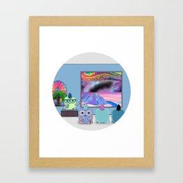 Jolt Teaching Framed Art Print
