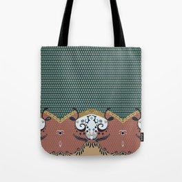 ss16 /// Handmade Arabesque II Tote Bag
