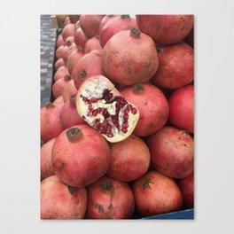 Pomegranate Party Canvas Print