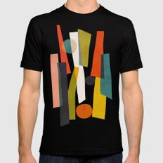 Sticks and Stones Mens Fitted Tee 2X-LARGE Black