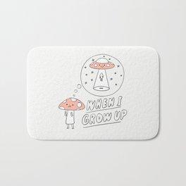 When I Grow Up (Little Mushroom) Bath Mat