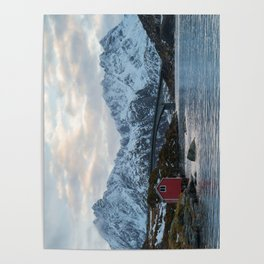 Lofoten winter Poster