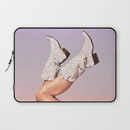 These Boots - Glitter Miami Vibes Laptop Sleeve