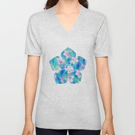 Bellflowers Unisex V-Neck