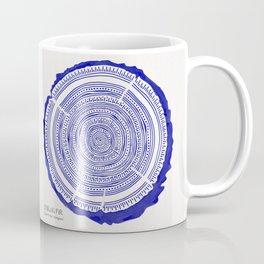 Douglas Fir – Navy Coffee Mug