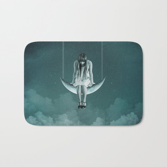 Moon Girl Dreams Bath Mat
