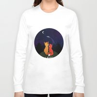 i want to believe Long Sleeve T-shirts featuring I Want To Believe by Sutexii